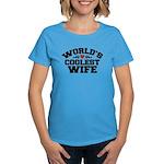 World's Coolest Wife Women's Dark T-Shirt