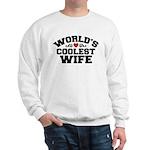World's Coolest Wife Sweatshirt