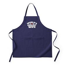 World's Coolest Wife Apron (dark)