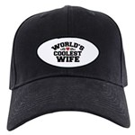World's Coolest Wife Black Cap
