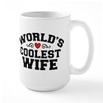 World's Coolest Wife Large Mug