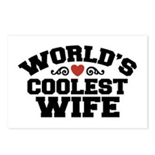 World's Coolest Wife Postcards (Package of 8)