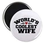 World's Coolest Wife Magnet
