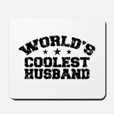 World's Coolest Husband Mousepad