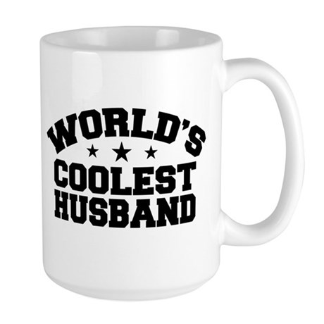 World's Coolest Husband Large Mug