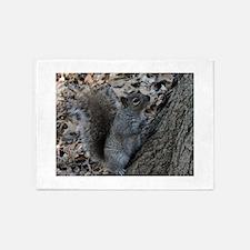 Squirrel 2 5'x7'Area Rug