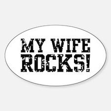 My Wife Rocks Decal