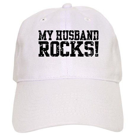 My Husband Rocks Cap