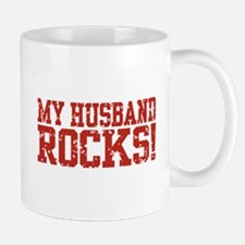 My Husband Rocks Mug