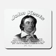 John Keats 08 Mousepad