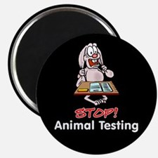 "Animal Testing 2.25"" Magnet (10 pack)"