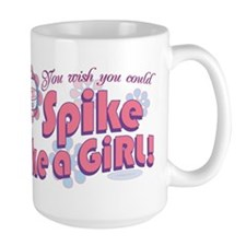 Spike Like a Girl Mug