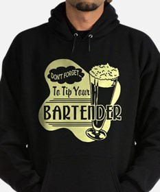 Tip Your Bartender Yellow Hoodie
