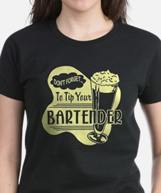 Tip Your Bartender Yellow Tee