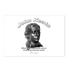 John Keats 12 Postcards (Package of 8)