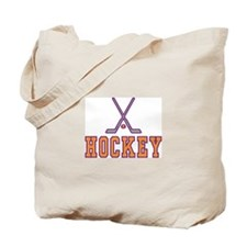 Hockey Sign Tote Bag