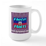 Help Haiti With Prayer Large Mug