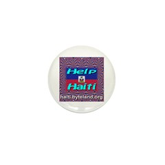 Help Haiti With Prayer Mini Button (10 pack)