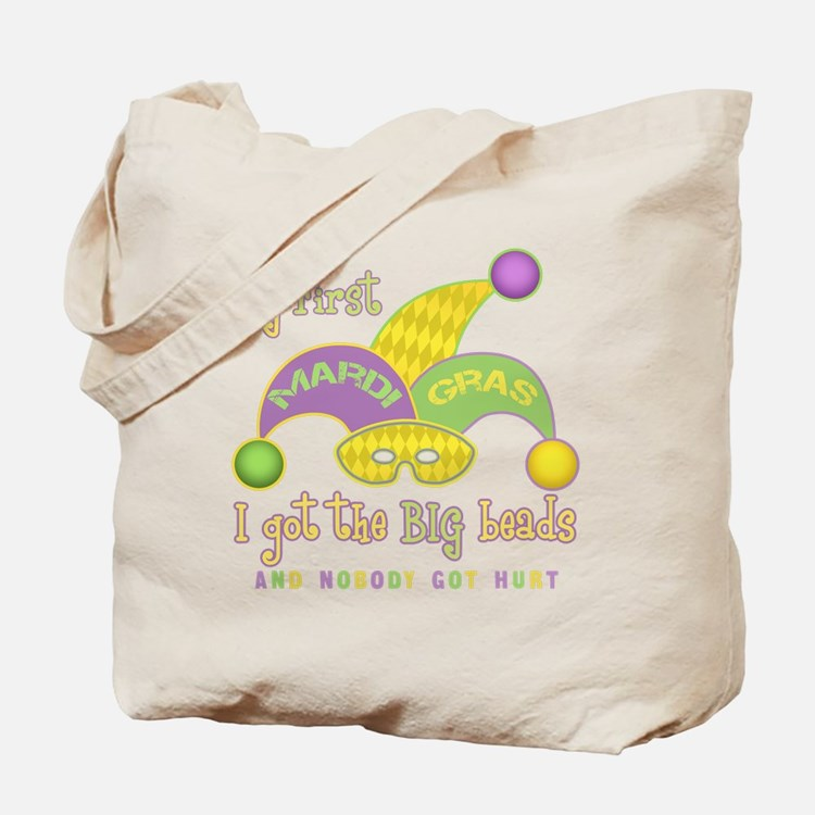My First Mardi Gras Tote Bag