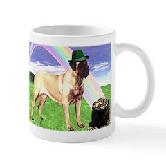 Mastiff St Patricks Mug