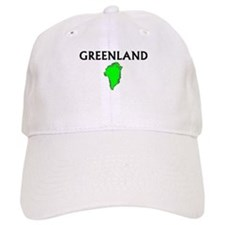Cute Greenland travel Baseball Cap