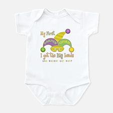 My First Mardi Gras Infant Bodysuit