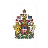 Canada coat of arms Stickers