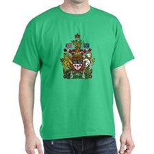 Canada Coat of Arms (Front) T-Shirt