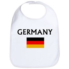 Cute Germany flag Bib