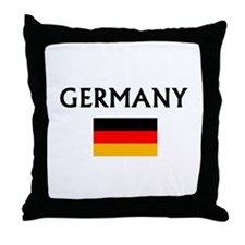 Unique Germany flag Throw Pillow