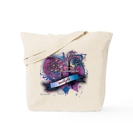 Twilight Valentwine Silhouette Tote Bag