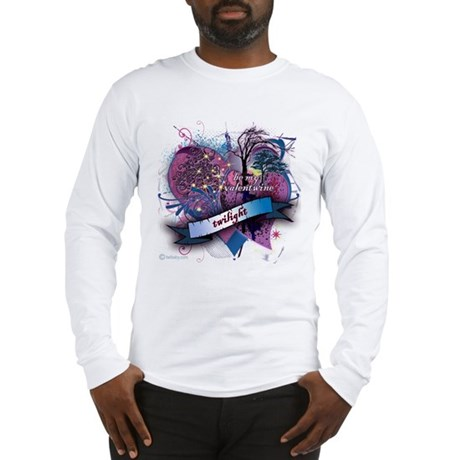Twilight Valentwine Silhouette Long Sleeve T-Shirt