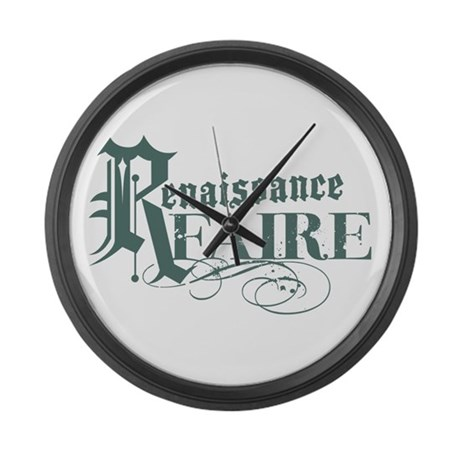 Renaissance Faire Large Wall Clock