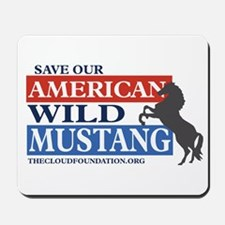 Save Our Mustangs Mousepad