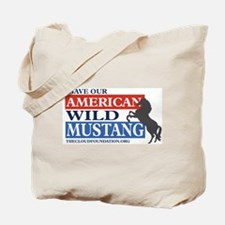 Save Our Mustangs Tote Bag