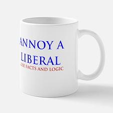 Annoy a liberal Small Small Mug