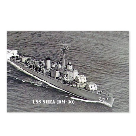 USS SHEA Postcards (Package of 8)