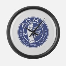 A.C.M.E. (Blue) Large Wall Clock