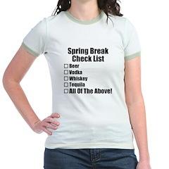 Spring Break Checklist T