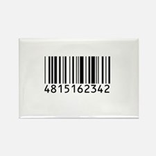 Barcode for 108 Rectangle Magnet