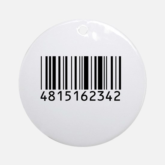 Barcode for 108 Ornament (Round)