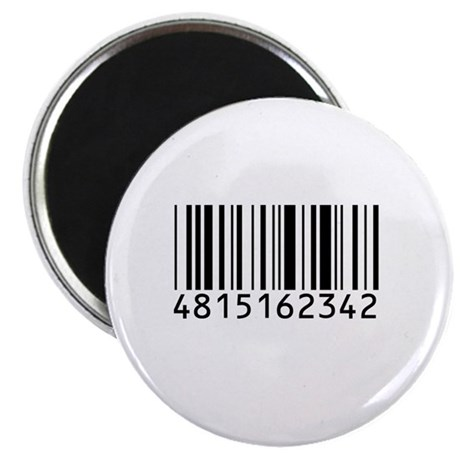"""Barcode for 108 2.25"""" Magnet (100 pack)"""
