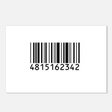 Barcode for 108 Postcards (Package of 8)