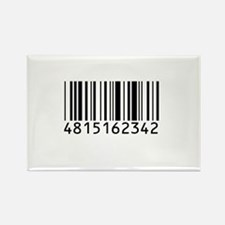 Barcode for 108 Rectangle Magnet (10 pack)
