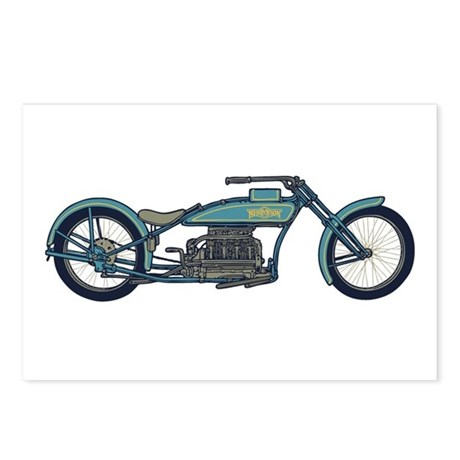 Antique Chopper II Postcards (Package of 8)
