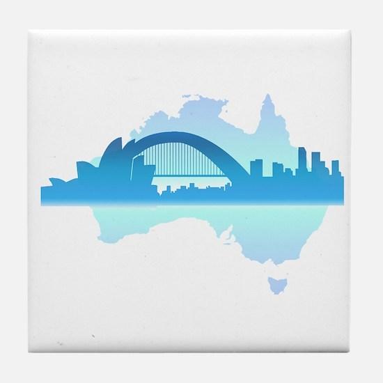 Sydney Tile Coaster