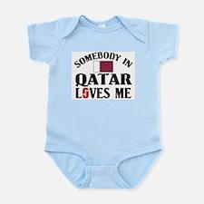 Somebody In Qatar Infant Creeper