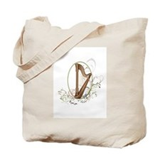 Cute Harp Tote Bag
