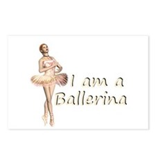 I am a ballerina Postcards (Package of 8)