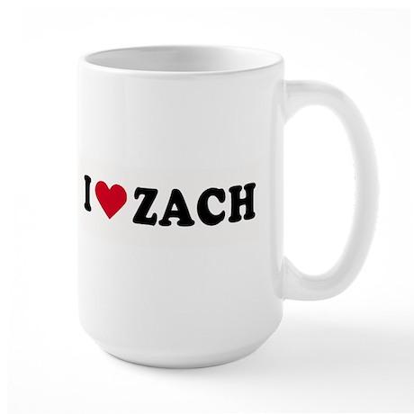 I LOVE BOYS ~ Large Mug